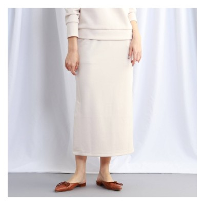 【ジェット/JET】 【ウォッシャブル】リラックスサイドスリットスウェットスカート