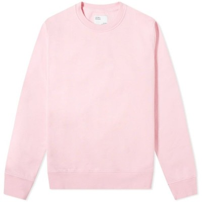 カラフルスタンダード Colourful Standard メンズ スウェット・トレーナー トップス Colorful Standard Classic Organic Crew Sweat Flamingo Pink