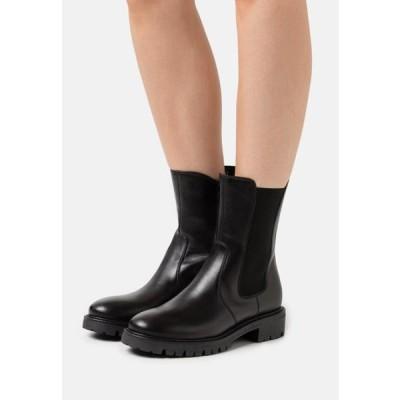 アンナフィールド レディース 靴 シューズ LEATHER - Classic ankle boots - black