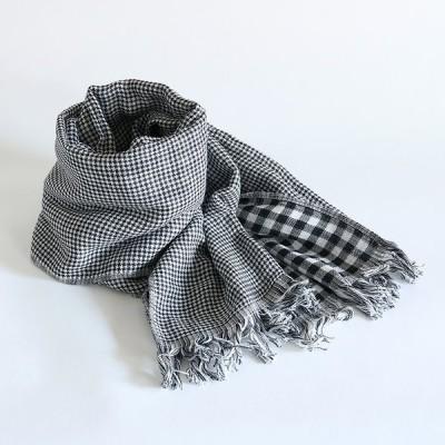 今治タオル コットンマフラー Imabari Towel Cotton Muffler Care カレ ブラック