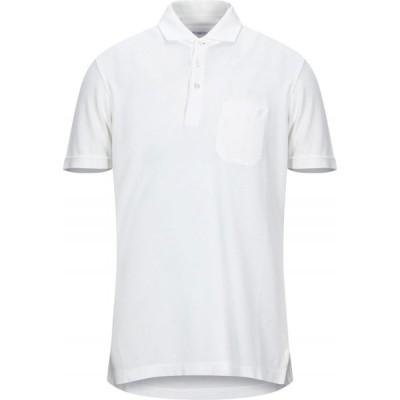 マーロ MALO メンズ ポロシャツ トップス Polo Shirt White