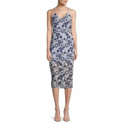 レディース ワンピース Floral Lace Dress