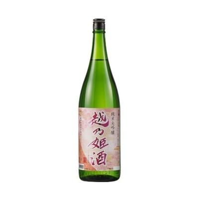 日本酒 純米大吟醸酒 越乃姫酒 純米大吟醸 一升瓶 1800ml