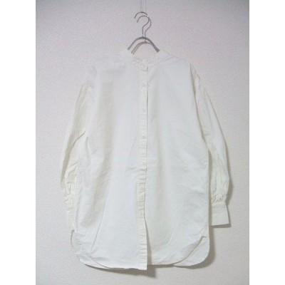 TODAYFUL/2wayスタンドカラーシャツ/ホワイト/トゥデイフル【中古】【レディース】1-0223M▲