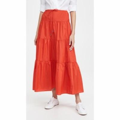 スタウド STAUD レディース スカート Lucca Skirt Tomato