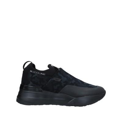 ルコライン RUCOLINE スニーカー&テニスシューズ(ローカット) ブラック 40 紡績繊維 / 革 スニーカー&テニスシューズ(ローカット)