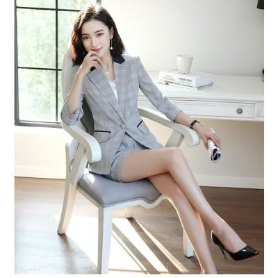 おしゃれ パンツスーツ 面接スーツ KL 事務服 大きいサイズ 女性 セレモニー フォーマル 発表会 OL通勤 オフィス ビジネス 面