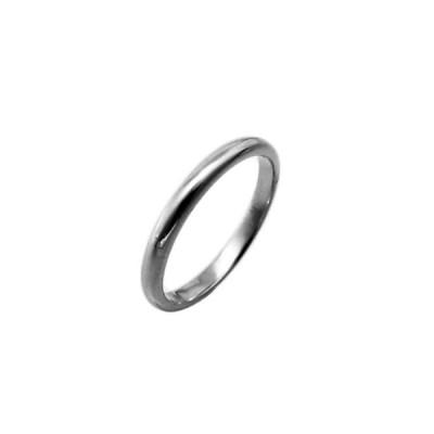 プラチナリング 小さいサイズ 純プラチナ Pt999リング 平甲丸巾2.5mm3g 高密度 鍛造 たんぞう 記念日 ギフト オーダー 結婚指輪