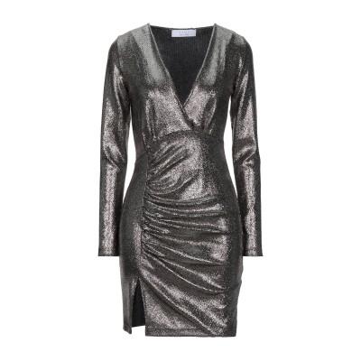 カオス KAOS ミニワンピース&ドレス ブロンズ S ポリエステル 100% ミニワンピース&ドレス