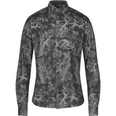 フランキーモレロ FRANKIE MORELLO メンズ シャツ トップス patterned shirt Lead