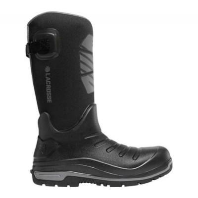 ラクロッセ LaCrosse メンズ ブーツ シューズ・靴 14' Aero Insulator Non-Metallic Safety Toe Boot Black