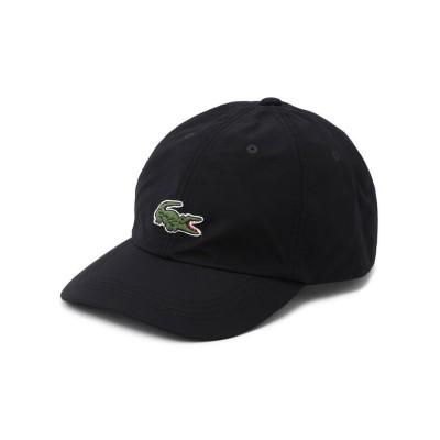 【RAWLIFE】 LACOSTE/ラコステ/cotton nylon sport cap/コットンナイロンスポーツキャップ メンズ ブラック 58 RAWLIFE