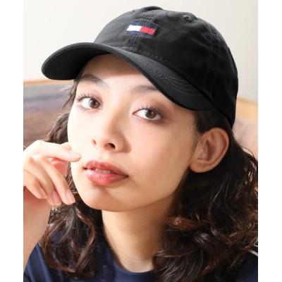 CORPUS TOKYO / 【TOMMY HILFIGER/トミーヒルフィガー】ワンポイント刺繍コットンベースボールキャップ MEN 帽子 > キャップ