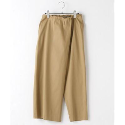 MARcourt/マーコート mizuiro ind ロールスカートスタイルパンツ beige M