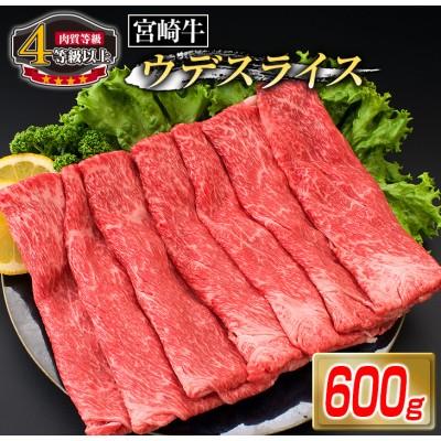 《肉質等級4等級以上》宮崎牛ウデスライス(600g)