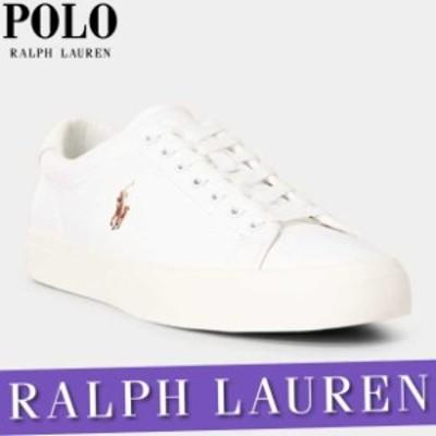ポロ ラルフローレン スニーカー シューズ メンズ ロングウッド レザー 刺繍ロゴ 靴 アメカジ 新作 RL