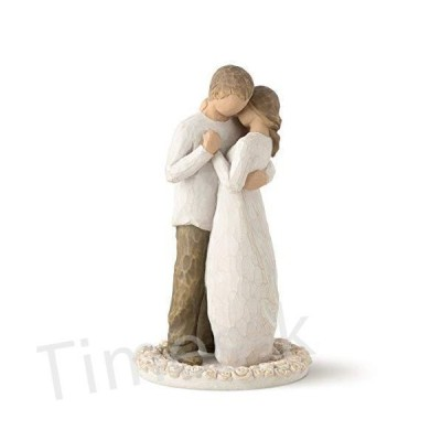 Willow Tree Promise Cake Topper, Susan Lordi 26189 by DEMDACO design for the home
