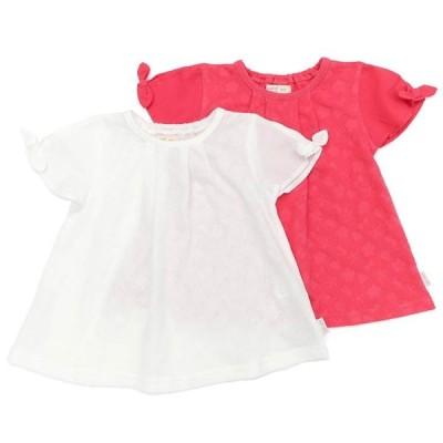 Biquette Club (ビケットクラブ ) 半袖Tシャツ (80〜130cm)  女の子 80cm 90cm 95cm 100cm 110cm 120cm 130cm キムラタン 子供服