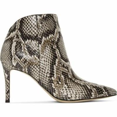 ジュゼッペ ザノッティ Giuseppe Zanotti レディース ブーツ シューズ・靴 Off-White and Black Maskenada Boots