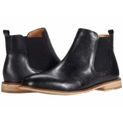 Steve Madden スティーブマデン メンズ 男性用 シューズ 靴 ブーツ チェルシーブーツ Tremp Chelsea Boot Black Leather【送料無料】