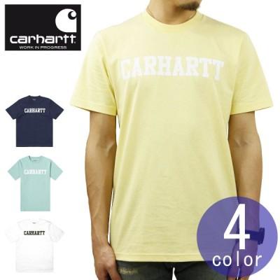 【ポイント10倍 2/25 0:00〜2/25 23:59まで】 カーハート Tシャツ メンズ 正規販売店 CARHARTT WIP 半袖Tシャツ ロゴTシャツ SHORT SLEEVE COLLEGE T-S