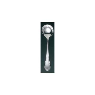 EBM 洋白 シェルブール(銀メッキ付)テーブルスープスプーン【 カトラリー・箸 】