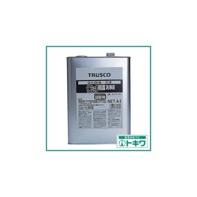 TRUSCO αタンショウ洗浄液 4L ( ECO-TC-C4 ) トラスコ中山(株)