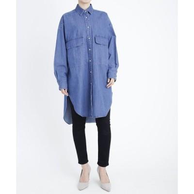 シャツ ブラウス YANUK オーバーサイズ シャツ/57191729