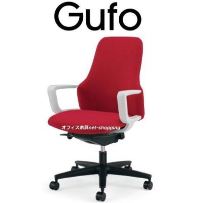コクヨ Gufo グーフォ ハイバック C型肘 ホワイトシェル CR-G2703E1