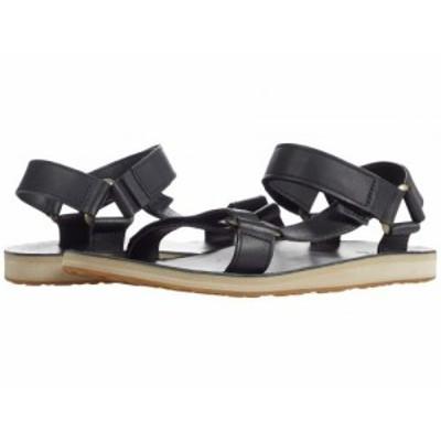 Teva テバ メンズ 男性用 シューズ 靴 サンダル Original Universal Leather Black【送料無料】