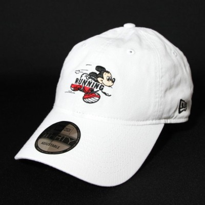 ニューエラ NewEra×Disney コラボ 帽子 930 9THIRTY ディズニー ミッキー ランニング ホワイト