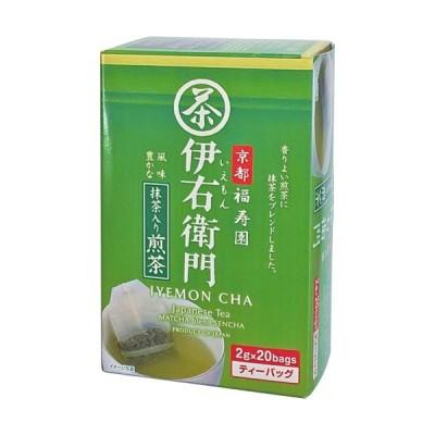 宇治の露製茶 伊右衛門 抹茶入り煎茶ティーバッグ 2g 1箱(20バッグ)