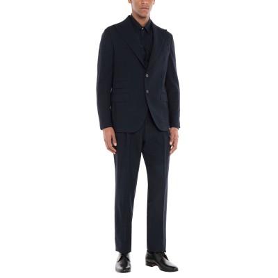 DOPPIAA スーツ ダークブルー 50 バージンウール 100% スーツ