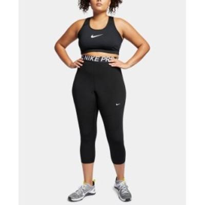 ナイキ レディース カジュアルパンツ ボトムス Plus Size Pro Cropped Leggings Black/White