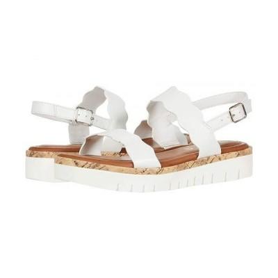 Unisa レディース 女性用 シューズ 靴 サンダル Brolio - White