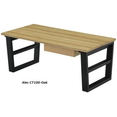 引出しつき センターテーブル アレック 100 OAK (オーク,ナチュラル,モダン,セール,リビングテーブル)