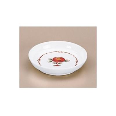 小皿 赤絵 小皿 高さ20mm×直径:94/業務用/新品