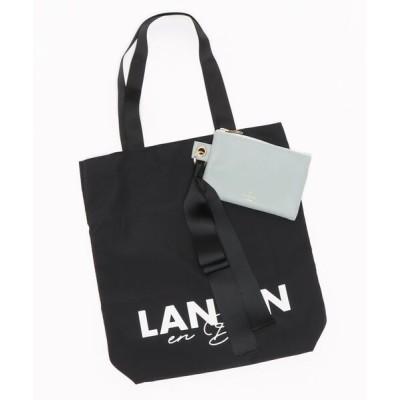 LANVIN en Bleu WOMEN / ロゴエコバッグ(M) WOMEN バッグ > エコバッグ/サブバッグ