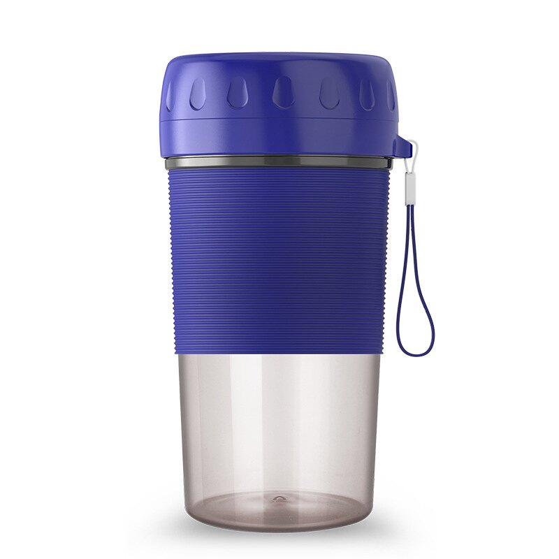 ✿維美✿ 攜帶式電動果汁杯(粉、藍兩色) 隨身果汁杯 充電式電動隨身杯 果汁機榨汁杯