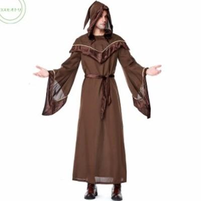 ハロウイン メンズ 神父 送料無料 牧師 宣教師 学園祭 文化祭 パーテイー コスプレ衣装 大人用
