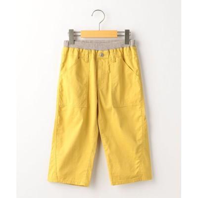 パンツ SHIPS KIDS:カラー 6分丈 ショーツ(145〜160cm)