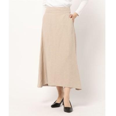 スカート ポプリンフレアスカート