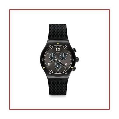 【新品未使用】Swatch Mens Chronograph Quartz Watch with Rubber Strap YVB406【並行輸入品】