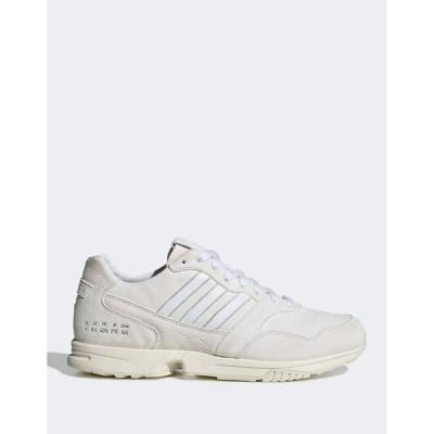 アディダスオリジナルス レディース スニーカー シューズ adidas Originals ZX 1000 sneakers in triple white White