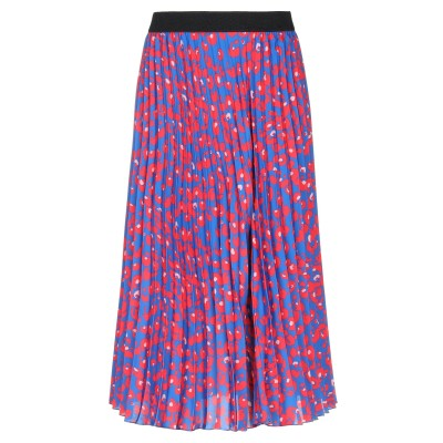 VANESSA SCOTT 7分丈スカート ブルー L ポリエステル 100% 7分丈スカート