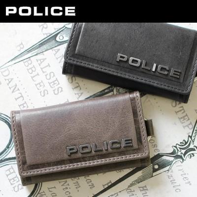 ポリス POLICE 6連キーケース 財布 サイフ メンズ  EDGE エッジ PA-58003