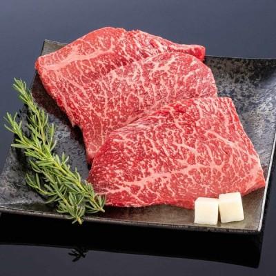 熊野牛 ステーキ上モモ 600g (3枚) 父の日 お肉 高級 ギフト プレゼント 贈答 自宅用 まとめ買い