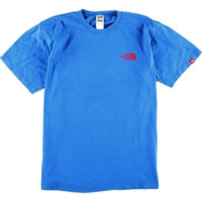 ザノースフェイス ロゴプリントTシャツ メンズL /eaa011335