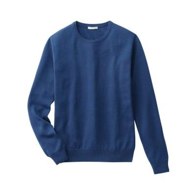 毛100%クルーネックセーター (ニット・セーター)Sweater,