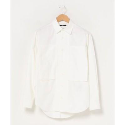 シャツ ブラウス SHIPS: ビッグシルエット オックスフォード レギュラーカラー シャツ